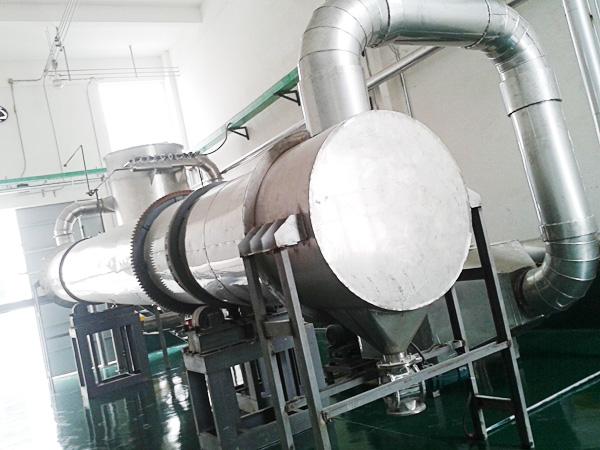 回转滚筒干燥机结构设计